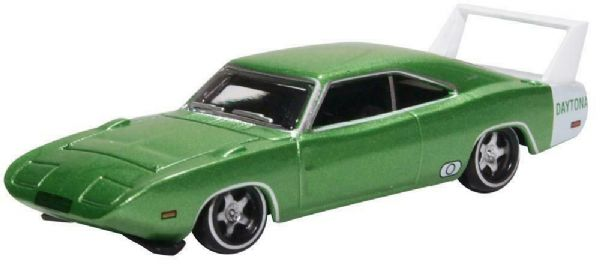 Oxford USA 87DD69003 DD69003 1/87 HO Dodge Charger Daytona 1969 Green & White